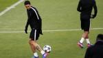 El PSG entrenó en el Camp Nou y Di María trabajó con normalidad - Noticias de angel di maria