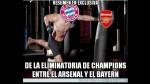 Los divertidos memes de la goleada del Bayern Munich sobre Arsenal - Noticias de douglas costa