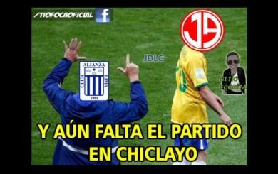 Alianza Lima apabulló a Aurich en Matute pero no se salvó de los memes