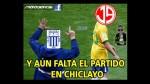 Alianza Lima apabulló a Aurich en Matute pero no se salvó de los memes - Noticias de juan aurich estadio alejandro villanueva