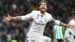 Real Madrid derrotó 2-1 al Betis y recuperó el liderato de la Liga - Noticias de heli