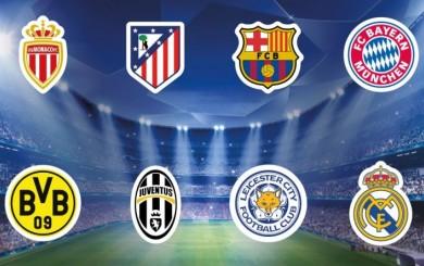 Champions League: estos son los equipos clasificados a cuartos