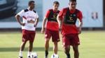 Selección peruana entrenó con Christian Ramos y jugadores de Melgar - Noticias de christian ramos