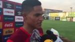Anderson Santamaría afirmó que a Perú no le sirve empatar en Venezuela - Noticias de christian ramos