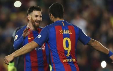 Lionel Messi anotó el 3-2 de Barcelona con genial definición de derecha