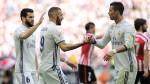 Real Madrid ganó 2-1 al Athletic y sigue siendo único líder de la Liga - Noticias de jaime valencia