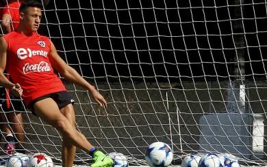 Chile: Alexis Sánchez se recuperó y se concentra para duelo con Argentina
