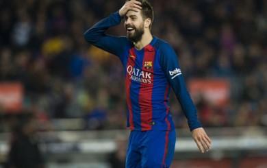 Barcelona: Piqué fue multado por críticas a los árbitros en España