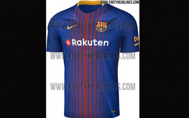 Barcelona: así será la nueva camiseta para la temporada 2017/2018