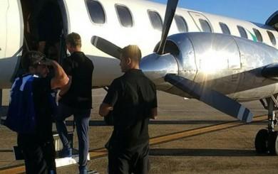 Racing: puerta de avioneta que trasladó al equipo se abrió antes de despegar