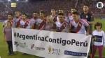 River Plate y Lanús tuvieron hermoso gesto con damnificados de Perú - Noticias de 90 segundos