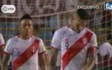 Paolo Guerrero: así reaccionó tras el error de Gallese en Venezuela