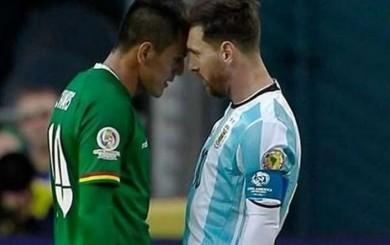 Jhasmani Campos reveló que su hijo quiere que le pida disculpas a Messi
