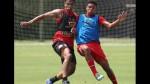 Selección peruana entrenó pensando en el partido clave ante Uruguay - Noticias de luis abram