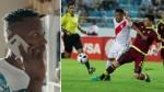 """'Cóndor' Mendoza pide """"dejar tranquilo"""" a Cueva por gol fallado en Venezuela - Noticias de andres mendoza"""
