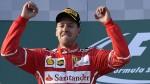 Fórmula Uno: Vettel y Ferrari ganaron el Gran Premio de Australia - Noticias de fernando alonso
