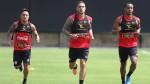 Selección peruana entrenó horas antes de jugar contra Uruguay - Noticias de miguel ramos