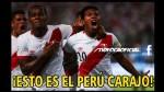 Perú vs. Uruguay: los divertidos memes que dejó el triunfo de la Bicolor - Noticias de edison flores