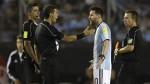 """Messi aceptó que insultó, pero no al árbitro sino al """"aire"""" - Noticias de marcelo tinelli"""