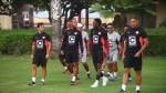 Universitario de Deportes: Juan Vargas estrenó peinado en práctica - Noticias de manuel tejada
