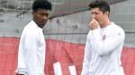 Lewandowski no terminó la práctica a un día del choque con Real Madrid - Noticias de david alaba
