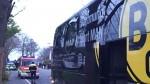 Policía confirmó que las explosiones fueron dirigidas contra el Dortmund - Noticias de cristal hora