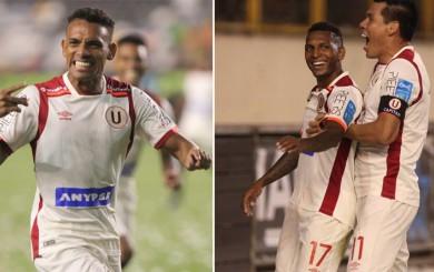 Universitario: Figuera y Quintero felices por sus goles y con la hinchada