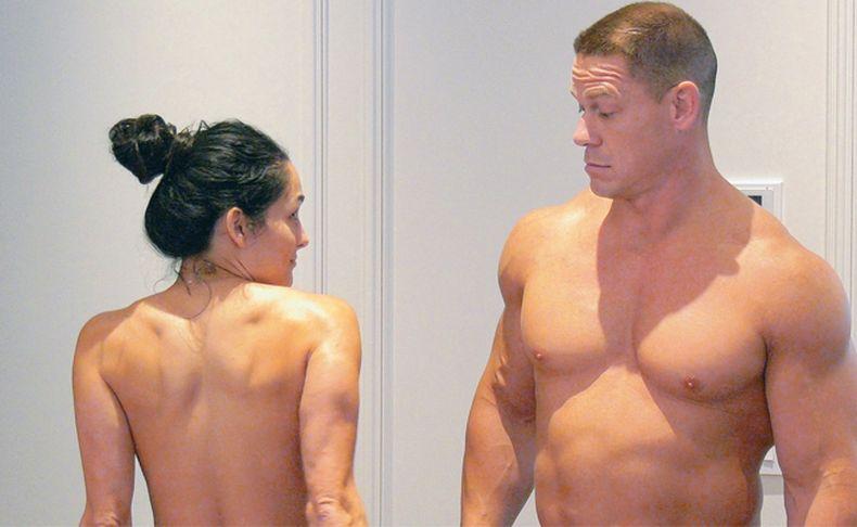 El desnudo de John Cena y Nikki Bella