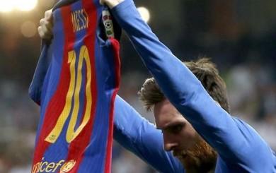 Lionel Messi: Sport reveló el significado de su festejo en el Bernabéu