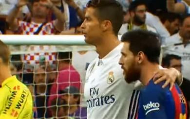 Messi y Cristiano: ¿qué se dijeron previo al Real Madrid-Barcelona?