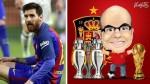 Lionel Messi: Mister Chip puso en duda sus 500 goles con Barcelona - Noticias de
