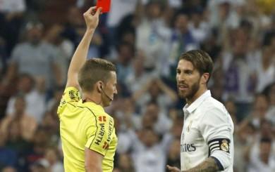 Sergio Ramos fue sancionado con un partido por la roja ante Barcelona