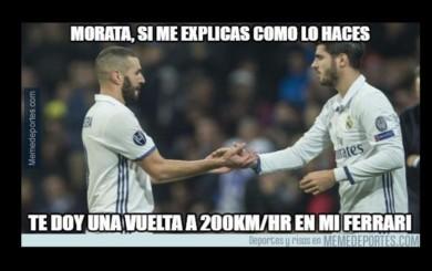 Real Madrid goleó 6-2 a Deportivo La Coruña y generó estos memes