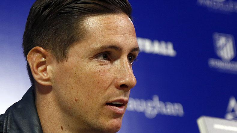 Fernando Torres, delantero del Atlético de Madrid.