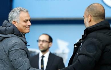 Mourinho vs. Guardiola: así fue el encuentro entre los técnicos