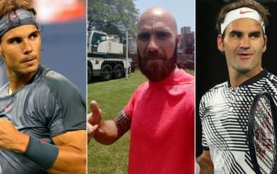 Luis Horna y la anécdota que recuerda con Roger Federer y Rafael Nadal