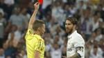 Sergio Ramos fue sancionado con un partido por la roja ante Barcelona - Noticias de real madrid sergio ramos