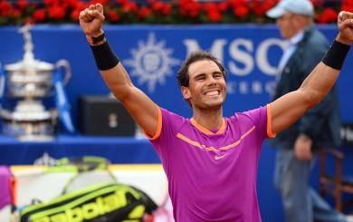 Nadal ganó a Thiem y logró su décimo Torneo de Barcelona