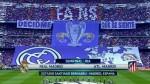 Real Madrid: el mosaico que mostró la hinchada para recibir al equipo - Noticias de santiago bernab