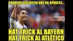 Real Madrid goleó al Atlético en Champions y protagonizó estos memes - Noticias de santiago bernab