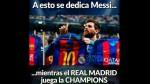 Champions League: cibernautas crean memes al Barcelona en inicio de 'semis' - Noticias de santiago bernab