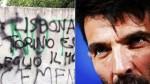 Gianluigi Buffon criticó a los ultras de Juventus por burlarse de tragedia - Noticias de grafitis