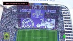 Atlético de Madrid: hinchada respondió al mosaico que se lució en el Bernabéu - Noticias de santiago bernab