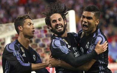 Real Madrid cayó 2-1 ante el Atlético, pero avanzó a la final de Champions