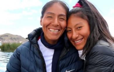Wilma Arizapana protagoniza emotivo spot del IPD por el Día de la Madre