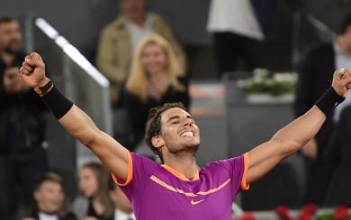 Nadal derrotó a Djokovic y avanzó a la final del Masters de Madrid
