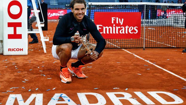 Rafel Nadal se coronó en el Masters 1000 de Madrid