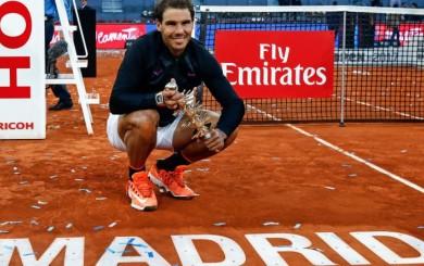 Rafael Nadal mantuvo en Madrid su marcha triunfal en tierra batida