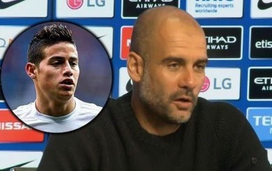 Pep Guardiola elogió a James Rodríguez: