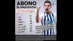 """Alianza Lima lanzó los """"abonos blanquiazules"""" para el Torneo Apertura - Noticias de luis aguiar"""